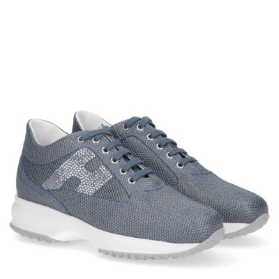 Interactive H Strass Sneakers stringate