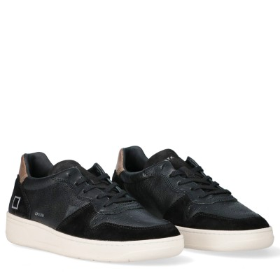 Court Leather Sneakers stringate