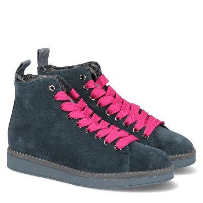 P01 Mid Cut Suede